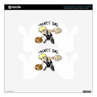 BASKET DAD DECAL FOR PS3 CONTROLLER