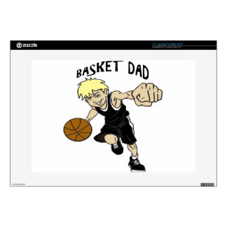 "BASKET DAD SKIN FOR 15"" LAPTOP"