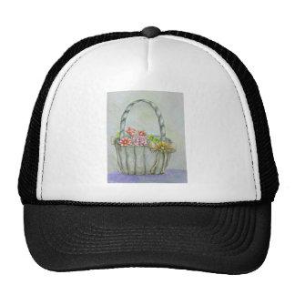 Basket flowers, be my flower girl trucker hat