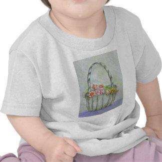 Basket flowers, be my flower girl shirts