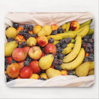 Basket Full Of Fruits Mouse Pad