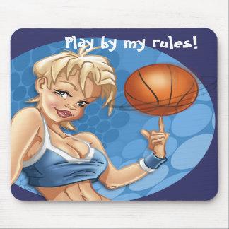 Basket Gir Pin-up Mousepad