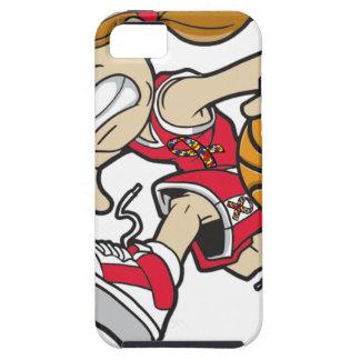 BASKET GIRL AUTISM RIBBON iPhone SE/5/5s CASE