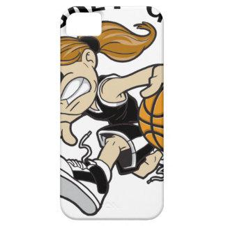 BASKET GIRL BLACK iPhone SE/5/5s CASE