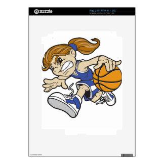 BASKET GIRL iPad 2 DECAL