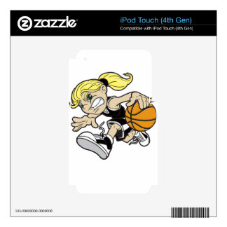 BASKET GIRL iPod TOUCH 4G SKIN