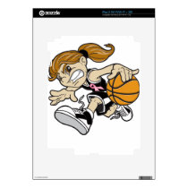 BASKET GIRL PINK RIBBON SKIN FOR iPad 2