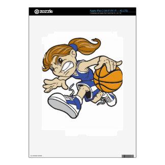 BASKET GIRL SKIN FOR iPad 3