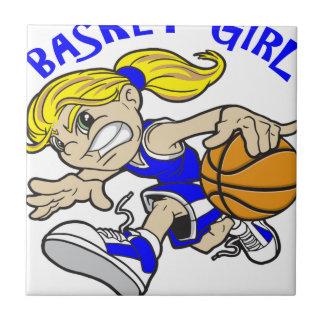 BASKET GIRL TILE