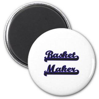 Basket Maker Classic Job Design 2 Inch Round Magnet