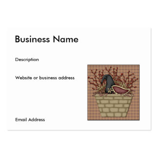 Basket 'O Crow Business Card
