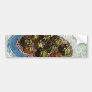 Basket of apples  by Vincent van Gogh Car Bumper Sticker