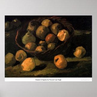 Basket of Apples by Vincent van Gogh Print