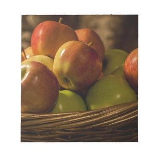 Basket of Apples Notepad