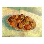 Basket of Apples to Lucien Pissarro - van Gogh Post Card