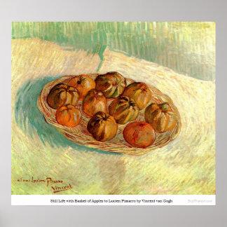Basket of Apples to Lucien Pissarro - van Gogh Print