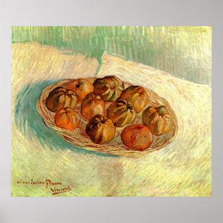 Basket of Apples to Lucien Pissarro - van Gogh Poster