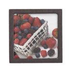 Basket of berries premium keepsake box
