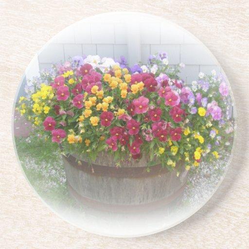 Basket of Blossoms Drink Coaster