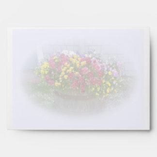 Basket of Blossoms Envelope