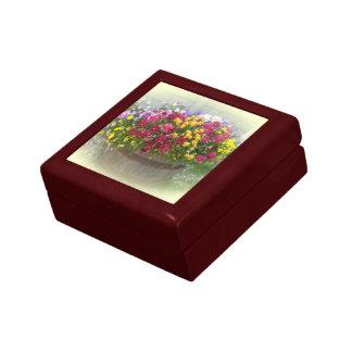 Basket of Blossoms Keepsake Boxes