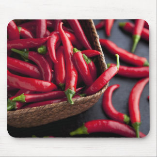 Basket of Chilies Mouse Pad