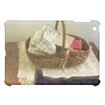 Basket of Cloth and Measuring Tape iPad Mini Case