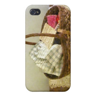 Basket of Cloth and Measuring Tape Covers For iPhone 4
