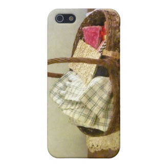 Basket of Cloth and Measuring Tape Covers For iPhone 5