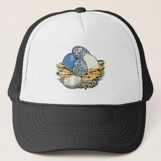 Basket of Colorful Easter Eggs 03 Trucker Hat