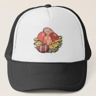 Basket of Colorful Easter Eggs 05 Trucker Hat
