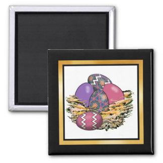 Basket of Colorful Easter Eggs 06 Magnet