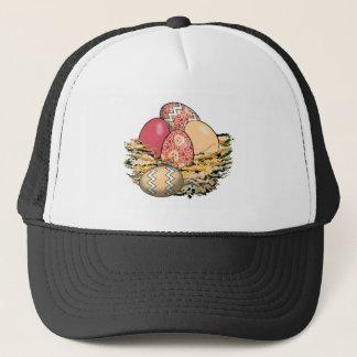 Basket of Colorful Easter Eggs 09 Trucker Hat
