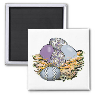 Basket of Colorful Easter Eggs 10 Magnet