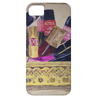 Basket of Cosmetics iPhone 5 Covers