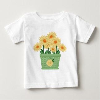 Basket of Daisies Baby T-Shirt