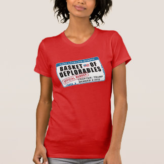 Basket of Deplorables Card Carrying Member T-Shirt