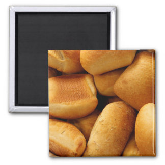 Basket of Dinner Rolls Magnet