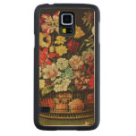 Basket of Flowers Carved® Maple Galaxy S5 Case