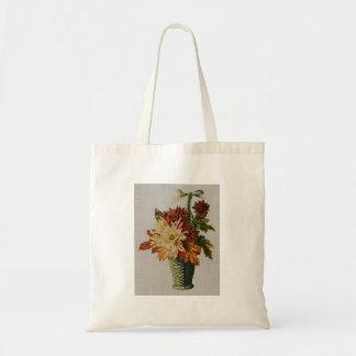 Basket of Flowers Tote Bag