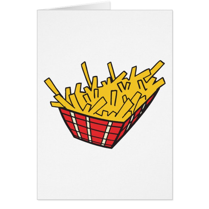 basket of french fries card
