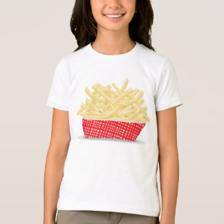Basket Of French Fries Girls T-Shirt
