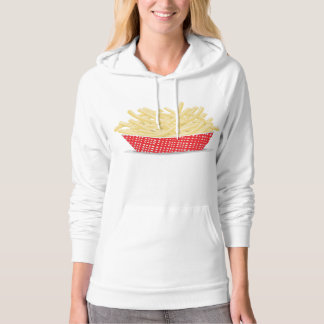Basket Of French Fries Womens Hoodie
