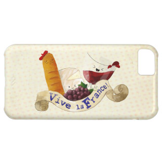 Basket of French Treats Cover For iPhone 5C