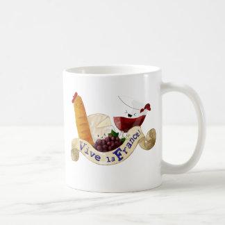 Basket of French Treats Coffee Mug