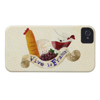 Basket of French Treats iPhone 4 Case-Mate Case