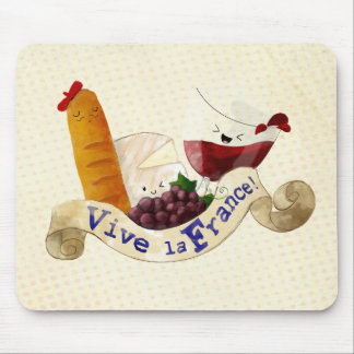 Basket of French Treats Mouse Pad
