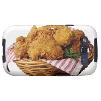 Basket of fried chicken galaxy SIII covers