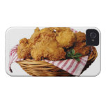 Basket of fried chicken iPhone 4 cases