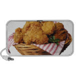Basket of fried chicken PC speakers